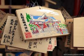 wedding wishes japan ema wooden wishing plaques of japan