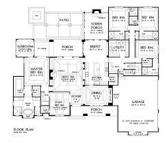 Floor Plans With Basement by Home Plan The Harrison By Donald A Gardner Architects