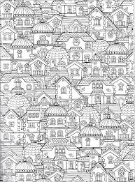 houses extreme wonders color art leisure arts zentangles
