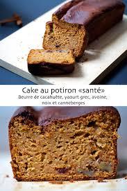 cuisine potiron cake au potiron et beurre de cacahuète santé cuisine en