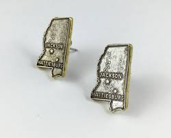 mississippi earrings mississippi earrings mississippi map jewelry mississippi