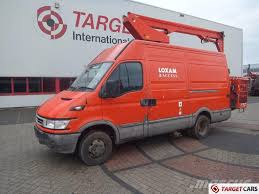 iveco daily 50c13 w gsr skyking s125ra boom lift 1250cm truck