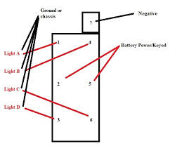 marine rocker 2 way switch wiring diagram diagram wiring