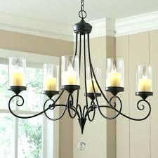 faux pillar candle chandelier lighting faux pillar candle chandelier chandeliers design awesome pillar