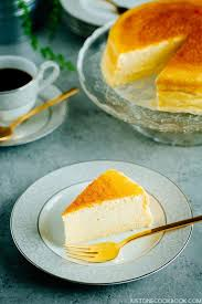 Lemon Cheesecake Decoration Japanese Cheesecake スフレチーズケーキ U2022 Just One Cookbook