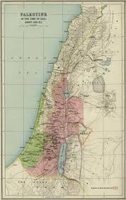Map Of Israel And Middle East by