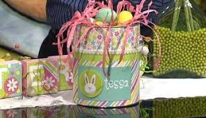 painted easter baskets studio 5 easter baskets with a twist