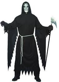 Grim Reaper Halloween Costume Sun Grim Reaper