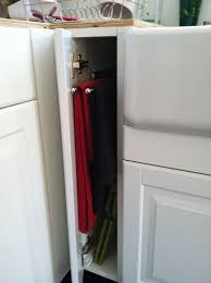 space between top of refrigerator and cabinet ikea kitchen hack custom built small cabinets to fill in the