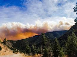 Wildfires In Colorado by Fast Moving Junkins Fire Near Westcliffe Burns More Than 15 000