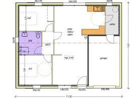 plan maison 100m2 3 chambres plan maison 70m2 3 chambres