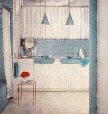Blue Bathroom Fixtures Living With Mid Century Bathroom Fixtures Suburban Pop