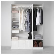 pax wardrobe white vikedal mirror glass 150x60x201 cm ikea