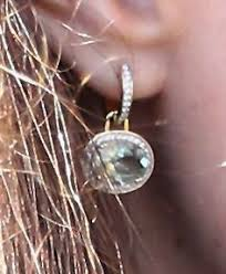 mcdonough citrine drop earrings catherine zoraida kate middleton fern rugby match earrings wwdkw