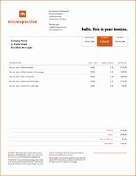 invoice video production template invoices word editor