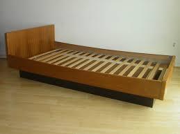 bedroom floating bed frame storage bed blueprints queen bed