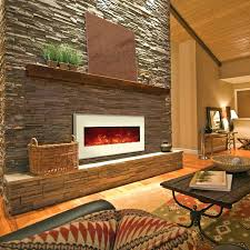 Recessed Electric Fireplace Recessed Electric Fireplace No Heat Amazon Napoleon Linear Wall