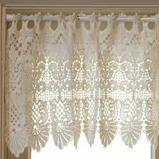 Lace Valance Curtains 22 Best Macrame Lace Images On Pinterest Lace Curtains Blinds