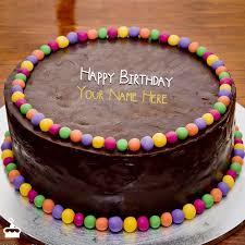 unique birthday cakes cool unique happy birthday cake with name
