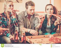 group of young friends having party stock photo image 40984543