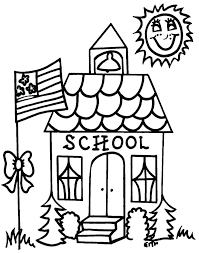preschool coloring pages school coloring pages for school school bus coloring book back to school