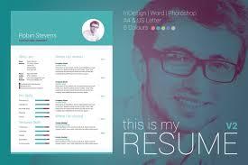 Edit My Indeed Resume My Resume V2 Resume Templates Creative Market