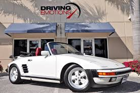 porsche 911 convertible white 1987 porsche 911 930 turbo cabriolet slant nose carrera turbo