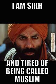 Being Tired Meme - funny memes sikh and tired of being called muslim because i m