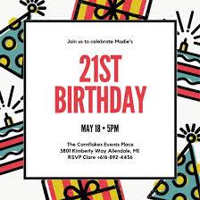 birthday invite template birthday invite templates birthday invitation templates canva free