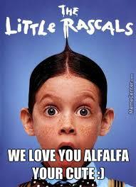 Alfalfa Meme - alfalfa meme by speedywill2 meme center