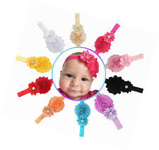 headbands with bows papiarts baby girl headbands with bows newborn headwraps 4 12 pack