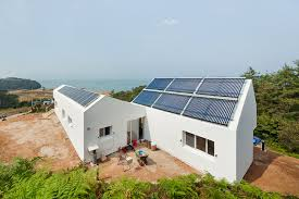 Net Zero Home Plans Sosoljip Is A Self Sufficient Net Zero Energy House In South Korea