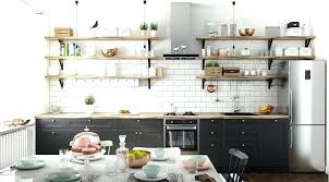 etagere murale pour cuisine etagere murale de cuisine etagere deco cuisine d co scandinave 50 id