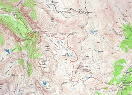 Telluride Colorado Map by Black Bear Road Trail Report