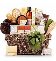 organic spa gift baskets organic gift basket