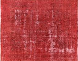 10 X12 Area Rug 10 U0027x12 U0027 Red Rose Overdyed Oriental Hand Knotted Wool Area Rug H9774