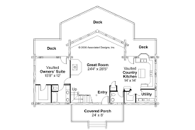 House Plans With Vaulted Great Room by A Frame House Plans Aspen 30 025 Associated Designs
