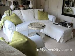 slipcovers for pillow back sofas pillow back sofa slipcovers how cover a sofa or chair with a
