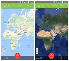 Satellite View Maps How To Put The Satellite View In The Mobile App Click2map