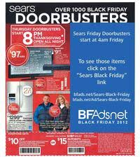 what time does target open black friday 2012 sears black friday 2017