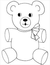 9 teddy bear coloring pages jpg ai illustrator download