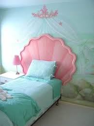 blue princess bedroom for small spaces with fancy headboards