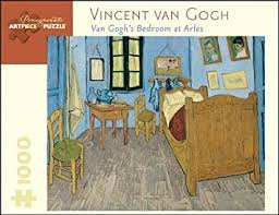 bedroom in arles amazon com vincent van gogh bedroom at arles 1 000 piece puzzle