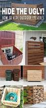 Backyard Garbage Cans by Best 20 Trash Can Ideas Ideas On Pinterest Rustic Kitchen Trash