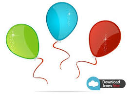palloncini clipart vettoriali gratis icona palloncini colorati file vettoriali