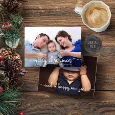 modern new years cards modern christmas card family photo card card new years