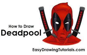 to draw deadpool