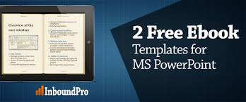 2 ebook templates for powerpoint free download