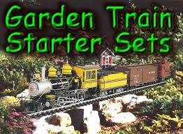 Backyard Trains You Can Ride For Sale Garden Train Starter Sets