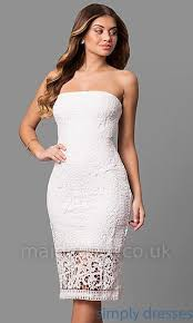 white lace dress with sleeves knee length 3 4 sleeve v neck lace dress m 19op knee length dresses
